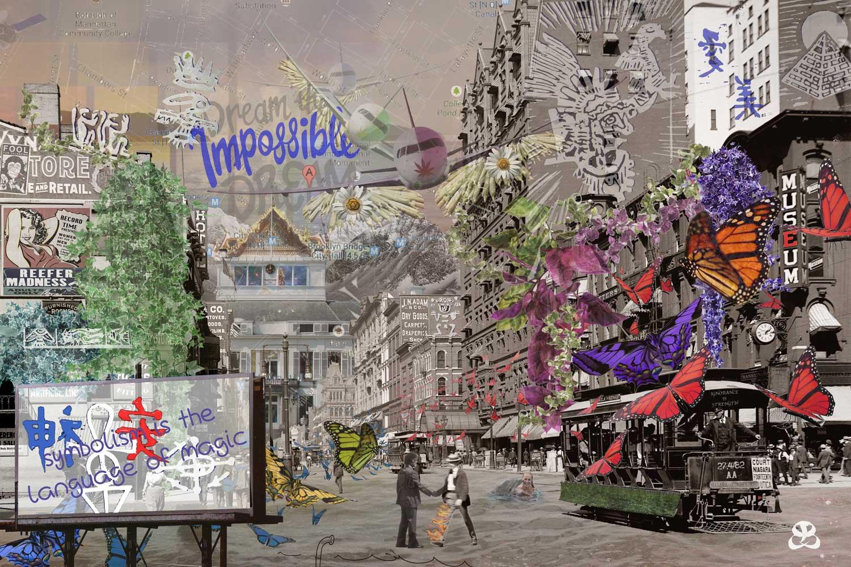 Digital Art Amsterdam - SIGN OF TIME