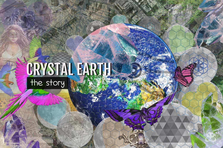 DIGITAL ART AMSTERDAM - Art Story CRYSTAL EARTH