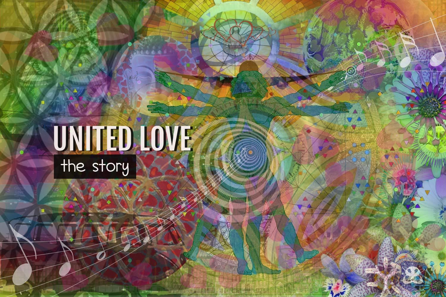 Digital Art Amsterdam - Art Story UNITED LOVE