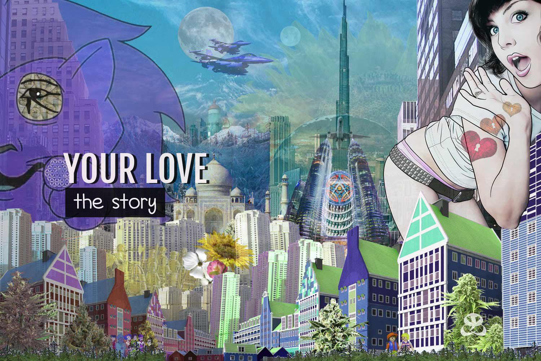 Digital Art Amsterdam - Art Story YOUR LOVE